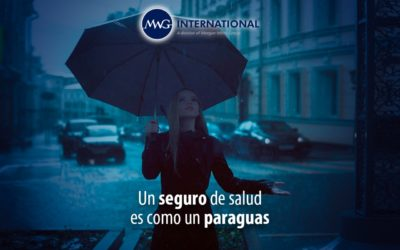 Un seguro de salud es como un paraguas