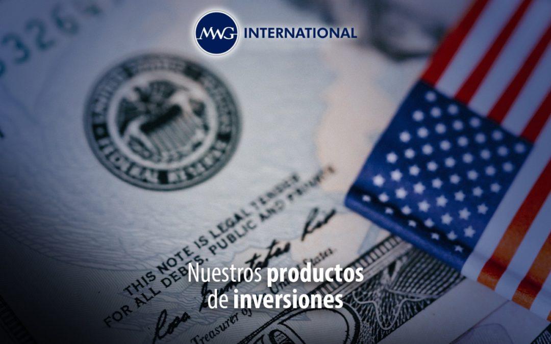 Nuestros productos de inversiones
