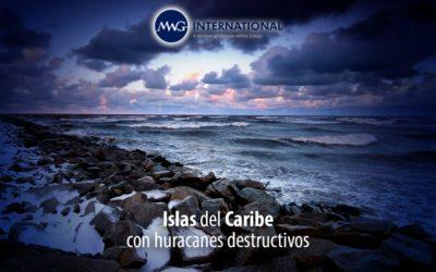Islas del Caribe con huracanes destructivos