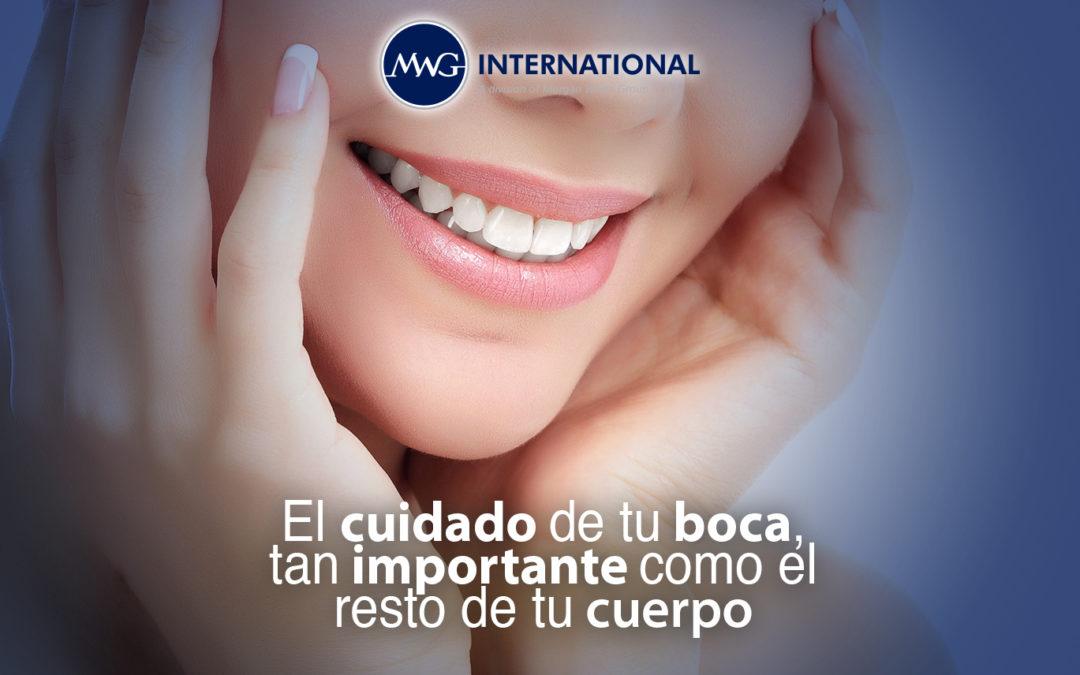El cuidado de tu boca es tan importante como el resto de tu cuerpo